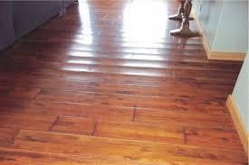 floor hardwood floor water damage on floor regarding