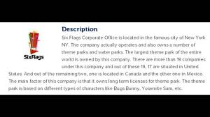 Six Flags Great America Phone Number Six Flags Corporate Office Contact Information Youtube