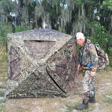 Bow Hunting From A Ground Blind Field Test Field U0026 Stream Ultimate Ground Blind Bowhunting Net