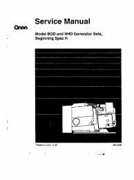 onan bgd nhd service manual beginspec h pg 1 50