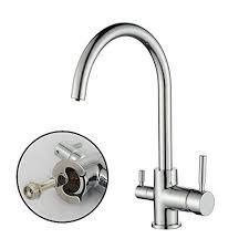 robinet pour evier cuisine homelody robinet de cuisine mitigeur pour evier à eau filtrée