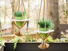 Hanging Plant Diy Hanging Planter With Hgtv