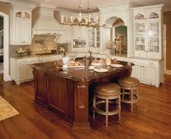 custom kitchen islands kitchen mediterranean with cherry cabinets