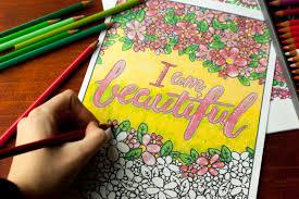 coloring through cancer coloring book