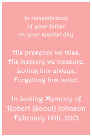 in loving memory wedding in loving memory cards custom wedding memorials poems digital