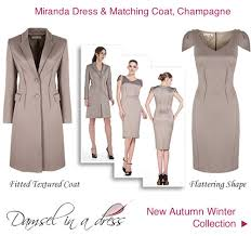 dress and jacket for wedding damsel in a dress coat occasion chagne aw 2012 collection