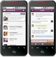 yahoo app for android use yahoo messenger app on android phone