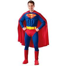 superman deluxe halloween costume walmart com