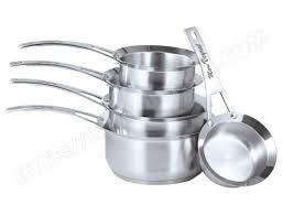 batterie de cuisine en solde et cuisine lot de 5 casseroles marc veyrat 3709 pas cher set