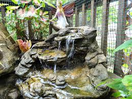 Rock Garden Waterfall Idea Garden Waterfall Backyard Pond Kits Artificial