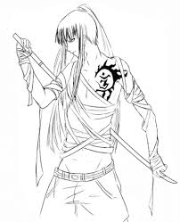 anime manga coloring pages free coloring pages 23681