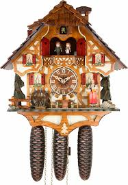 Chalet Style Cuckoo Clock 8 Day Movement Chalet Style 36cm By Anton Schneider