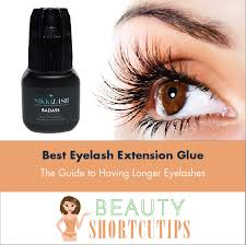 glue in extensions best eyelash extension glue the guide to longer eyelashes
