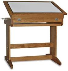 Mayline Oak Drafting Table Mayline Lighted Drafting Table Light Tables Drafting Tables