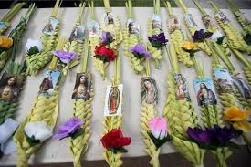 palm sunday palms for sale streets blessed on palm sunday orange county register
