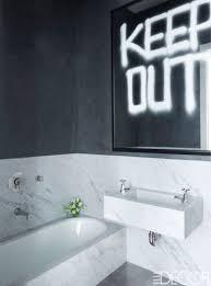 bathroom black white bathroom tile small black and white