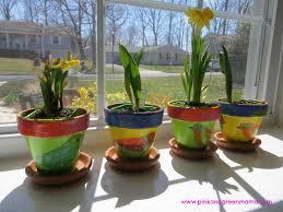 the art photo spring windowsill garden for children with diy