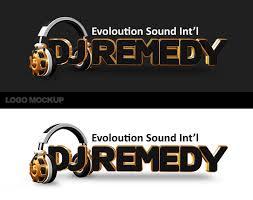 Dj Logo Psd Templates dj remedy mockup logo by jimmybjorkman on deviantart