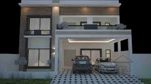 30x60 house plan front elevation house elevation modern compact
