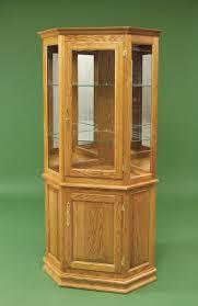 Curio Cabinet Corner Curio Cabinet Mapleio Cabinet Corner Vintage Cabinetbeacon