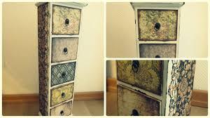 Wohnzimmerschrank Lackieren Möbel Umgestalten Vintage Holzschränkchen Youtube