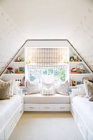 Hide Away Beds For Small Spaces See A Small Attic Transformed Into A Kid U0027s Hideaway Attic