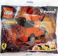 Amazon Com Lego Racers Scuderia Ferrari Truck Set 30191 Bagged