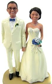 custom cake topper classic custom and groom wedding cake toppers