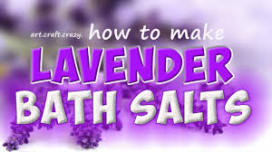 Lavender Bathroom Ideas Lavender Bath Salts Tutorial Dried Lavender Youtube