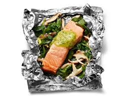 mix and match foil packet fish food network magazine recipes