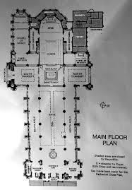 Cathedral Floor Plan Floor Plan Perhaps Not Easy To Read But This Floor Plan M U2026 Flickr