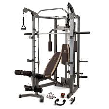 marcy smith machine sm 4008 weight training circuit cage system