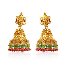 buttalu earrings buy andhra arya vysya malabar gold buttalu sdvnbis00566 for women