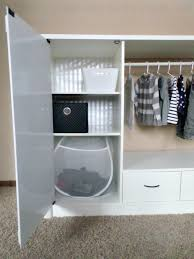 Kids Armoire Wardrobe Entertainment Center Turned Kids Closet Armoire Furniture Makeover