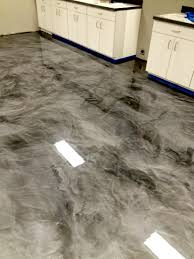 metallic epoxy floor coatings by sierra concrete arts interior