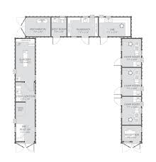 Shipping Containers Floor Plans by Shipping Container Clinic Clinix Container Conversions
