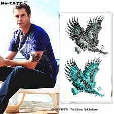 neck wing tattoos compare prices on eagle wings tattoos online shopping buy low