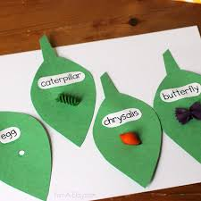 Butterfly Crafts For Kids To Make - butterfly life cycle craft necklace the kids can make life cycle