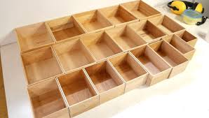 Wooden Box Shelves by Small Box Joined Boxes Youtube