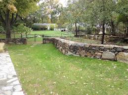 Garden Rock Wall by Old Retaining Rock Wall Repair On Earth Plant Care