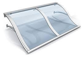 pensilina tettoia in policarbonato plexiglass pensiline in policarbonato a onda adatte per scale tettoie ed