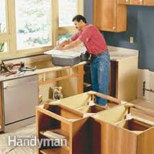 How To Install Kitchen Countertops by How To Install Granite Countertops Kitchen Tile Family Handyman