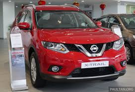 red nissan nissan x trail u2013 now available in flaming red for cny image 432845