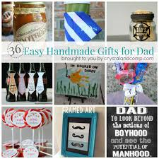 Homemade Gift Ideas by 36 Easy Handmade Gift Ideas For Dad Crystalandcomp Com