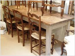 kitchen counter height farm table long farm table dinette sets