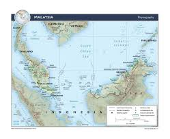 Physiographic Map Of The United States by Maps Of Malaysia Detailed Map Of Malaysia In English Tourist