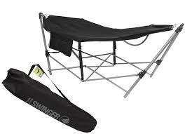 Folding Hammock Chair Summit Portable Folding Hammock Amazon Co Uk Sports U0026 Outdoors