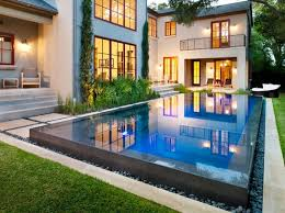 house plans with swimming pools 15 lovely swimming pool house designs home design lover new home