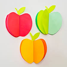 Fruit Of The Spirit Crafts For Kids - hello wonderful make a 3d paper apple book craft