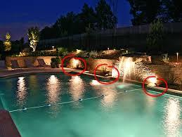 low voltage lighting near swimming pool 680 22 b 6 low voltage luminaires